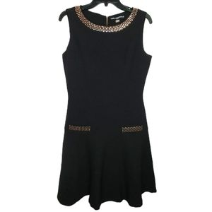 Karl Lagerfeld Paris Sleeveless Black Dress Size 8